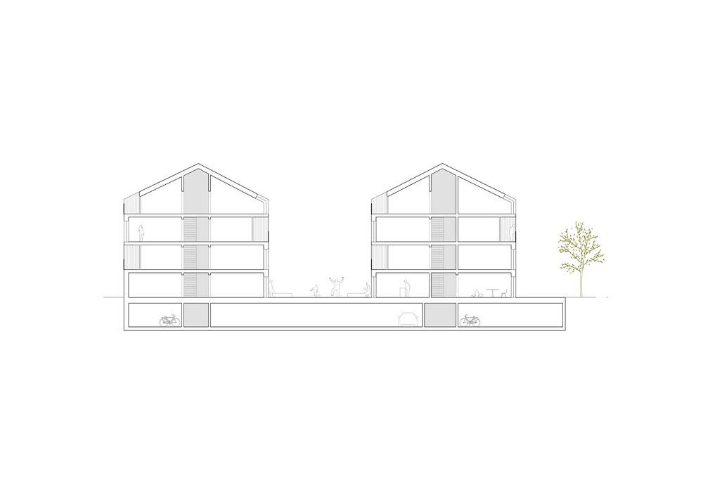 borex projets tribu architecture. Black Bedroom Furniture Sets. Home Design Ideas